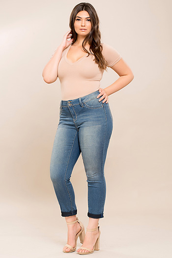 Junior Plus Size WannaBettaButt Pant
