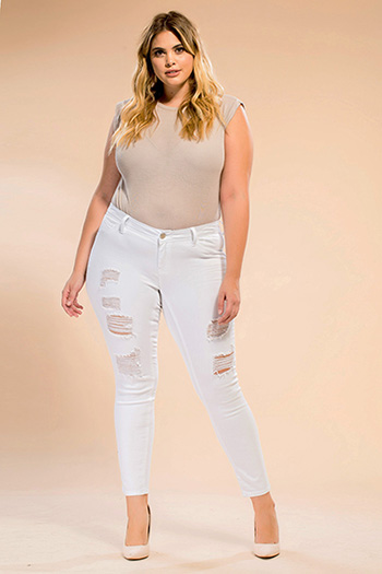 Junior Plus Size Luxe Skinny Jean