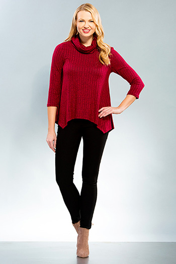 Women Turtleneck Top