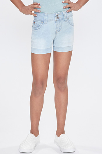 Kids WannaBettaFit Double-Button Shorts