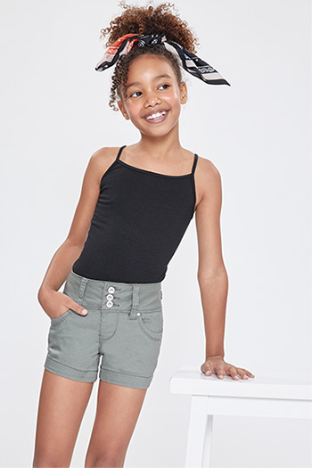 Kids WannaBettaFit Triple-Button Shorts