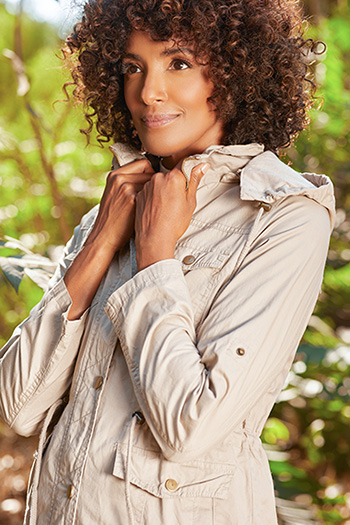 Women Cotton Twill Jacket