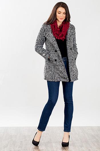 Women Tweed Coat