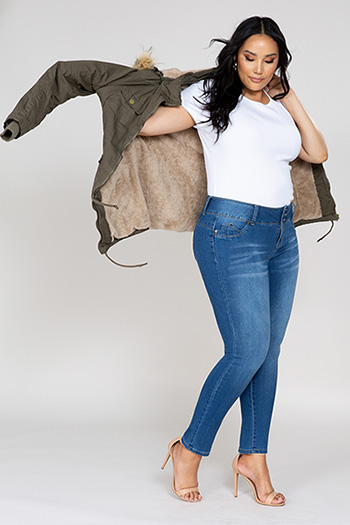 Women Plus Size Cotton Jacket
