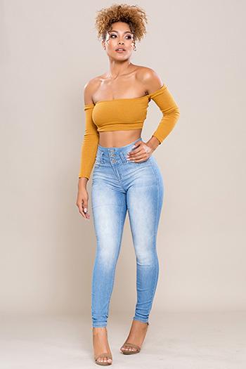 Junior High-Waist Super Soft Skinny Jean