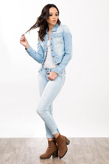 Junior Back Pocket Design Skinny Jean