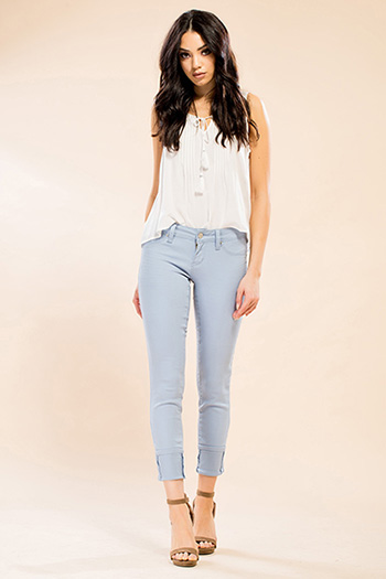 Junior Mega Cuffed Skinny Jean