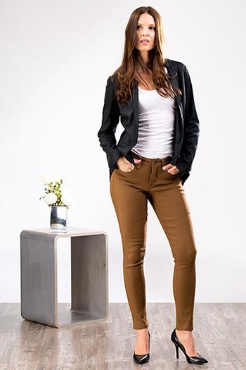 Women Petite WannaBettaButt Hyper Twill Skinny Jeans