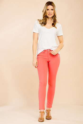 Women Petite Hyperstretch Skinny Jean
