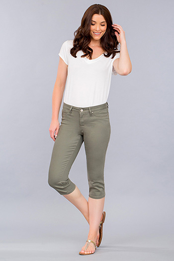 Women Basic Capri
