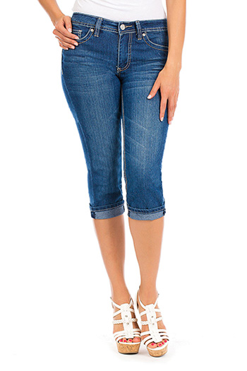 Women Single-Button Capri