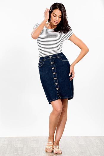 Women WannaBettaButt A-Line Skirt