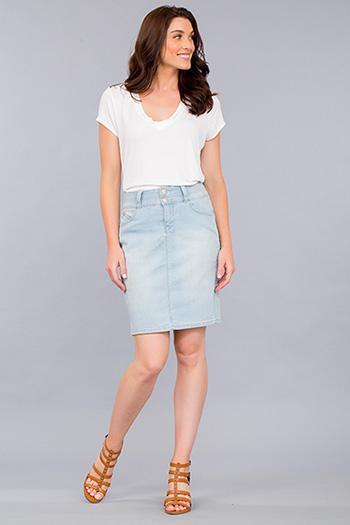 Women WannaBettaButt High Waist Pencil Skirt