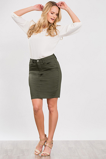 Women WannaBettaButt Pencil Skirt