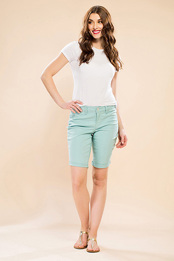 Women Super Soft Bermuda Shorts