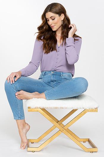 Women Hyper Fleece Denim Skinny Jeans