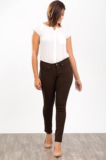 Women WannaBettaButt Hyper Twill Skinny Jeans