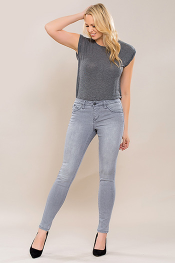 Women WannaBettaButt Single-Button Skinny