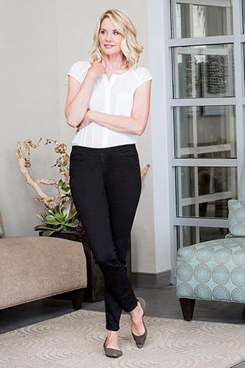 Women Super Soft Pull-On Skinny Jean