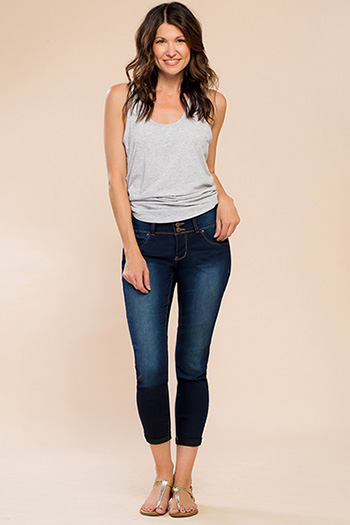 Women WannaBettaButt 3-Button Cuffed Jean