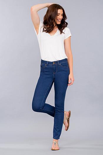 Women WannaBettaButt Rayon Skinny Jeans