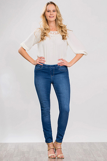 Women WannaBettaButt Pull-On Skinny Jeans