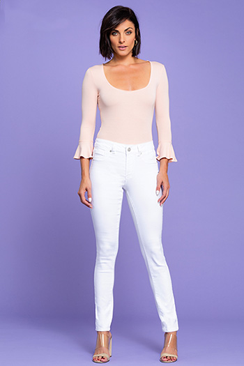 Womens Hide Your Muffin Top High-Rise Skinny Jean