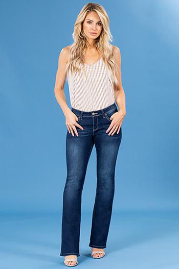 Women WannaBettaButt Mid-Rise Bootcut Jean
