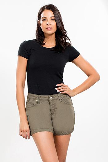 Women WannaBettaButt Twill Shorts