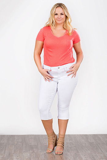 Women Plus Hyperstretch Capri