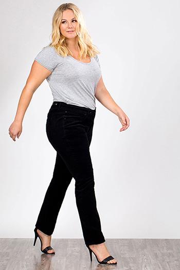 Women Plus Size Corduroy Pants