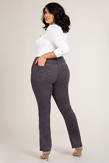 Women Plus Size Corduroy Pants
