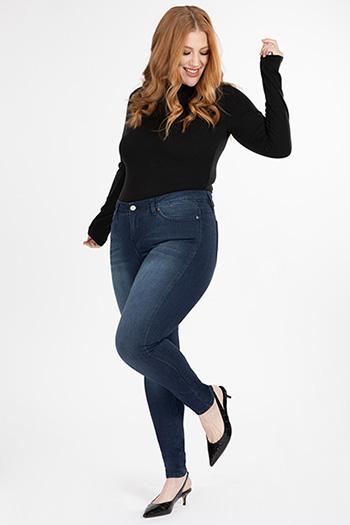 Women Plus WannaBettaButt Skinny Jeans