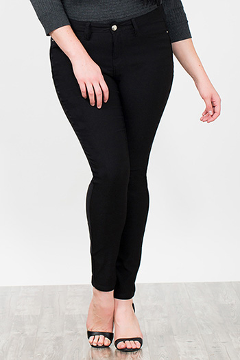 Women Plus Hyper Fleece Skinny