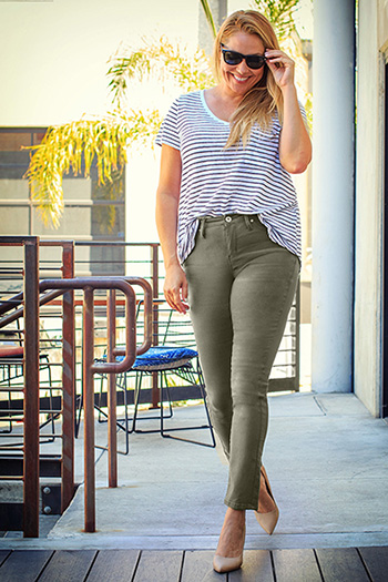 Women Plus Size Hyperstretch Skinny
