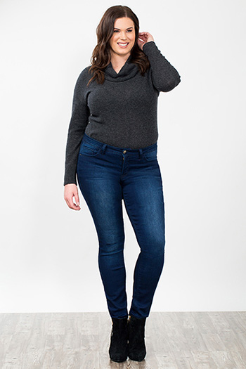 Women Plus Slim-Hers Skinny Jeans