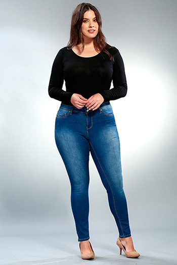 Women Plus Luxe Skinny Jegging