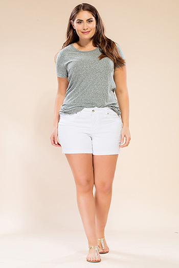 Women Plus Size WannaBettaButt Shorts